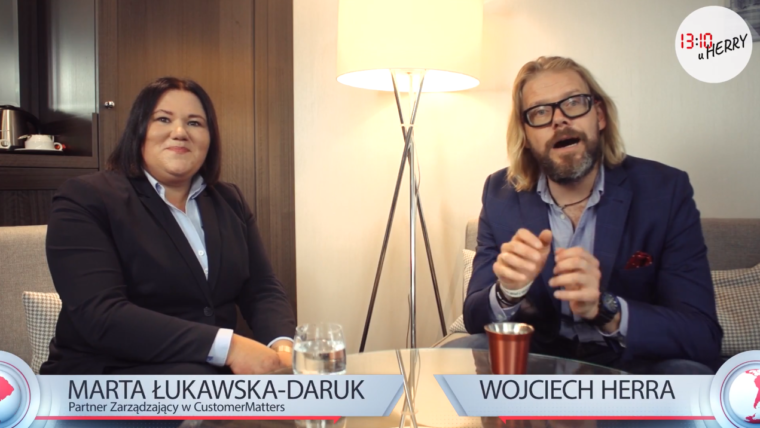 Marta Łukawska-Daruk o 13:10 u Herry